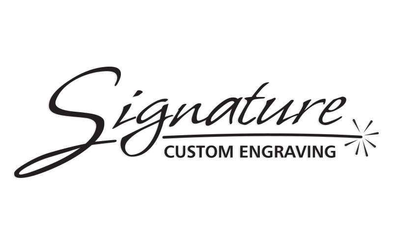 Signature Custom Engraving Logo