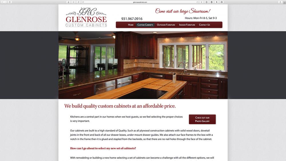 Glenrose Cabinet - cabinet page - desktop