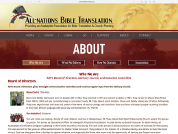 All Nations Bible Translation - about page - desktop