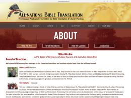 All Nations Bible Translation - about page - desktop