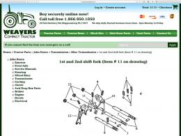 Compact Tractor Parts - Parts page - desktop