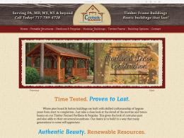 Crickside Barns - home page - desktop
