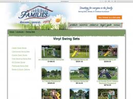 FAMILIES Catalog vinyl playset page - desktop