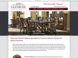 Glenrose Cabinet - Home page - desktop