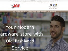 Jono Hardware - home page - desktop