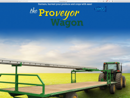 Proveyer Wagon - Home page - desktop